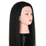 Training head - 100% Human hair - inc clamp - beauty spot warehouse