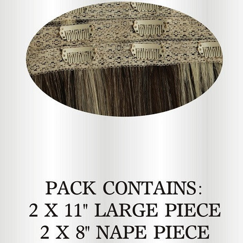 Ultimate Lace Quad Clip in extensions 'BEST SELLER' - beauty spot warehouse