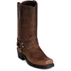 "Men's Dingo 11"" Harness Dean Boots Brown DI19074"