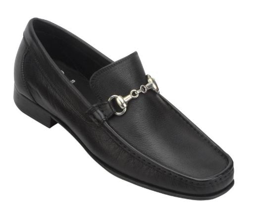 Toscana Mens Black Bit Loafer