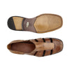 "Belvedere Sandal ""Land"" Antique Almond"