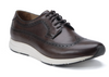 Belvedere Eric Sneaker Calf Leather Wingtip Low Top Antique Brown