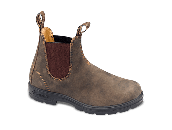 "Blundstone Women's Super 550 Boots ""Rustic Brown"""