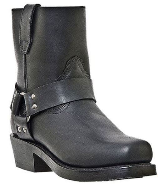 "Men's Dingo 12"" BLACK Engineer Boot #DI19040"