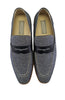 Giovanni Tweed mens loafer shoes, Navy blue
