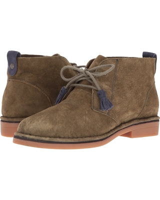 "Hush Puppies suede ""Catelyn"" Olive boot"