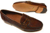 Studio Belvedere Loafer - Brown Ostrich/Deer