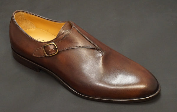 Jose Real Brown Monkstrap N417