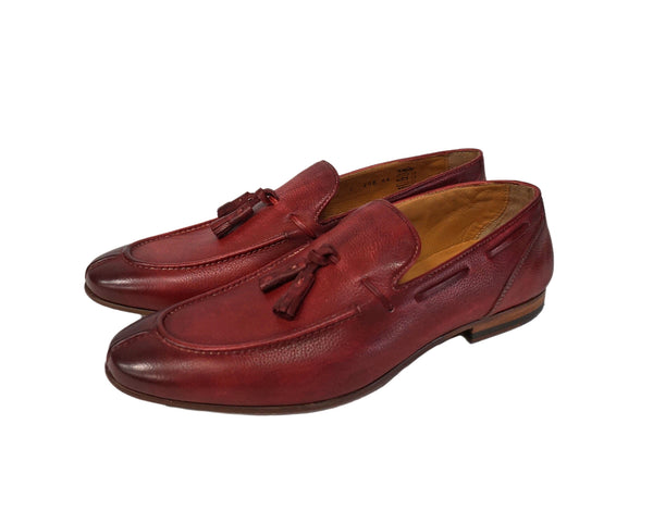 Jose Real Red Italian Tassel Loafer