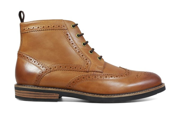 MEN'S ODELL MEDIUM/WIDE WING TIP BOOT