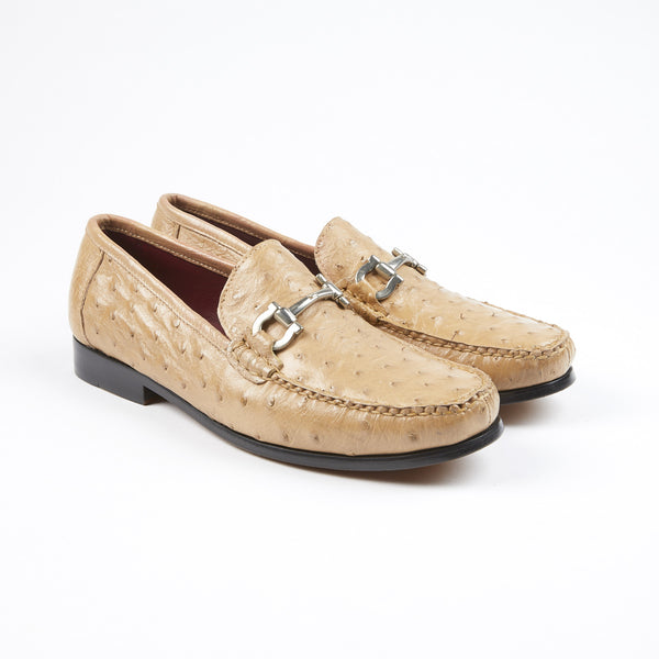 PELLE LINE OSTRICH LEATHER LOAFER ORIX