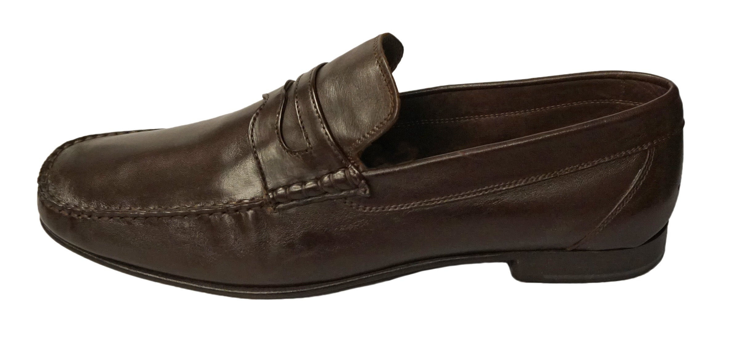 Calzoleria Toscana (Large Shoes) Brown Italian Loafer