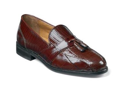 Stacy Adams Albert Bike Toe Tassel Loafer