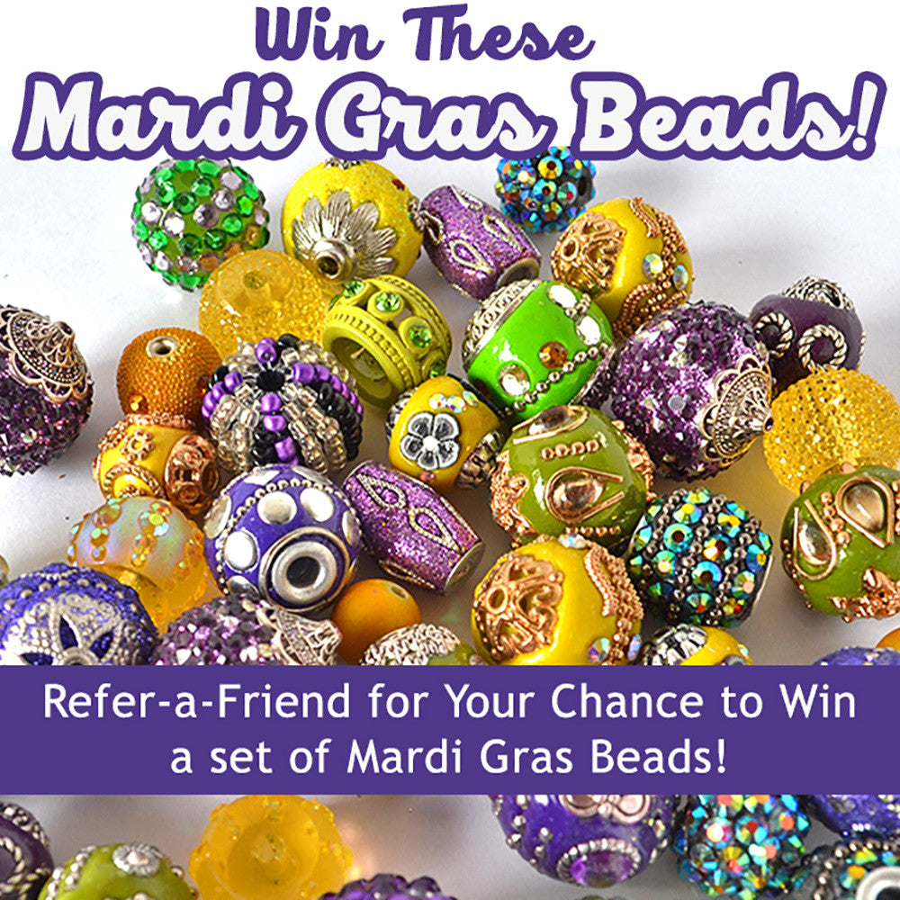 Giveaway! Win Mardi Gras Beads