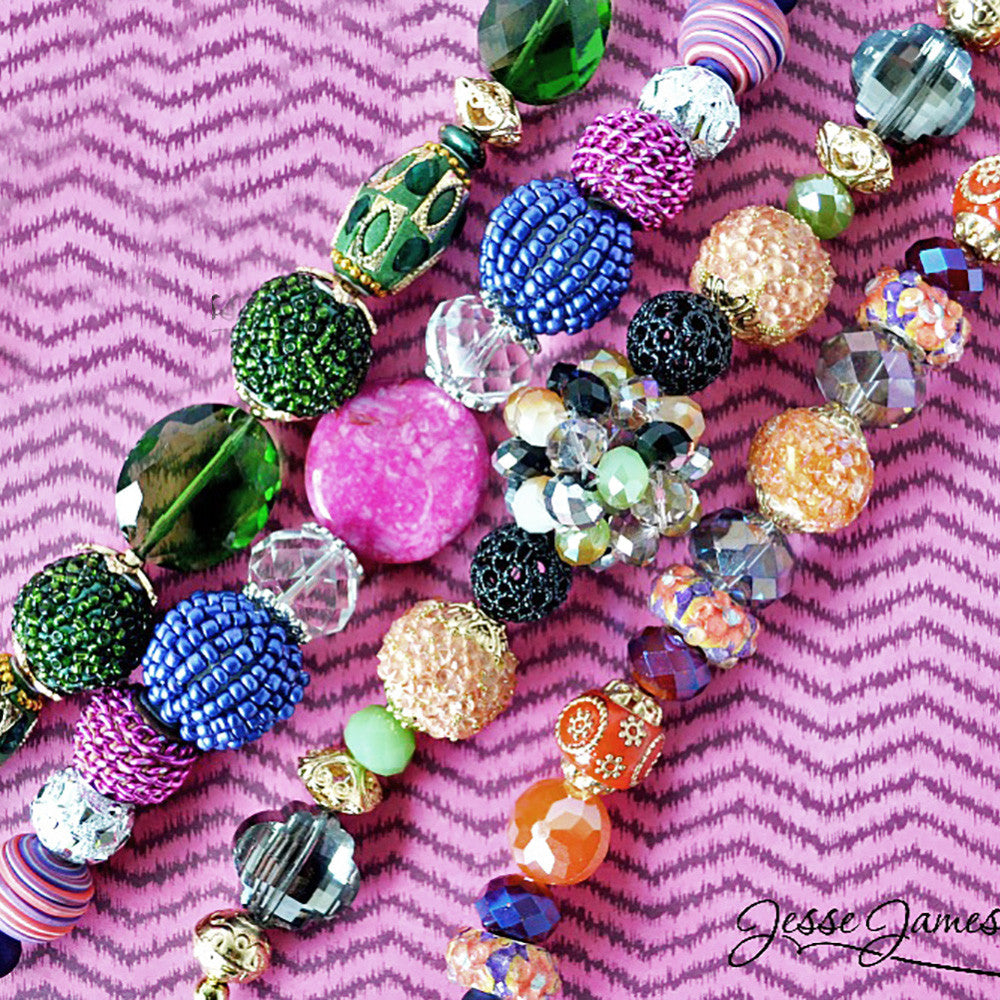 Bright New Bead Mixes & Findings