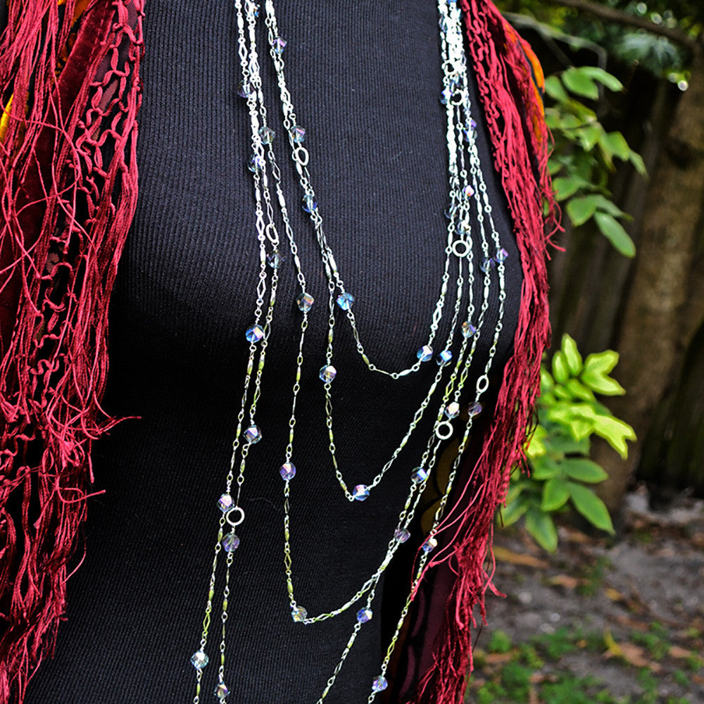 DIY Style - How to a Make a Multi Layered Necklace