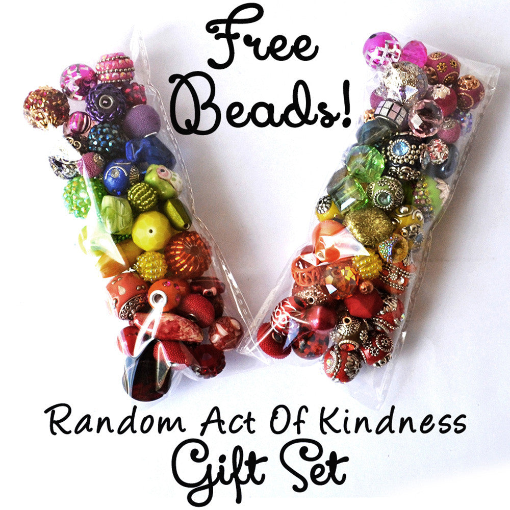 Free Bead Gift for Random Act of Kindness Week