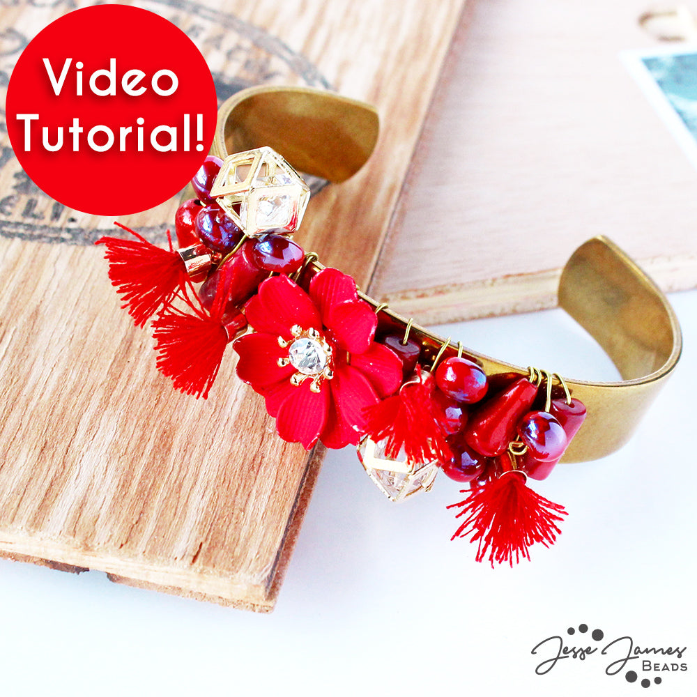 Make A Fun Fall Cuff Bracelet With Nealay Patel