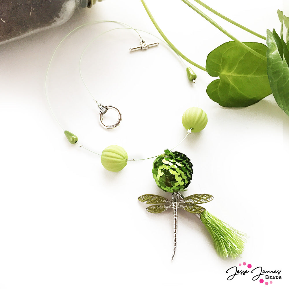 How-To Video: Enter The Dragonfly Necklace