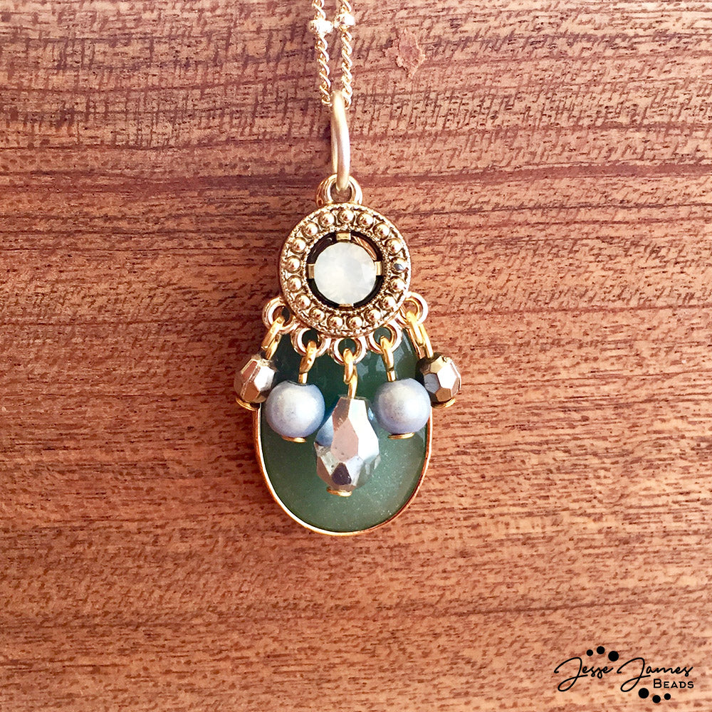 How-To Video: Green Goddess Pendant