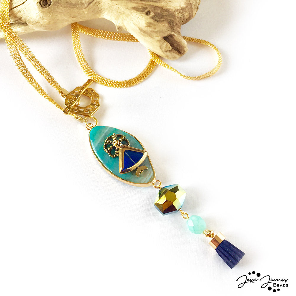 How-To Video: Giza Treasures Necklace