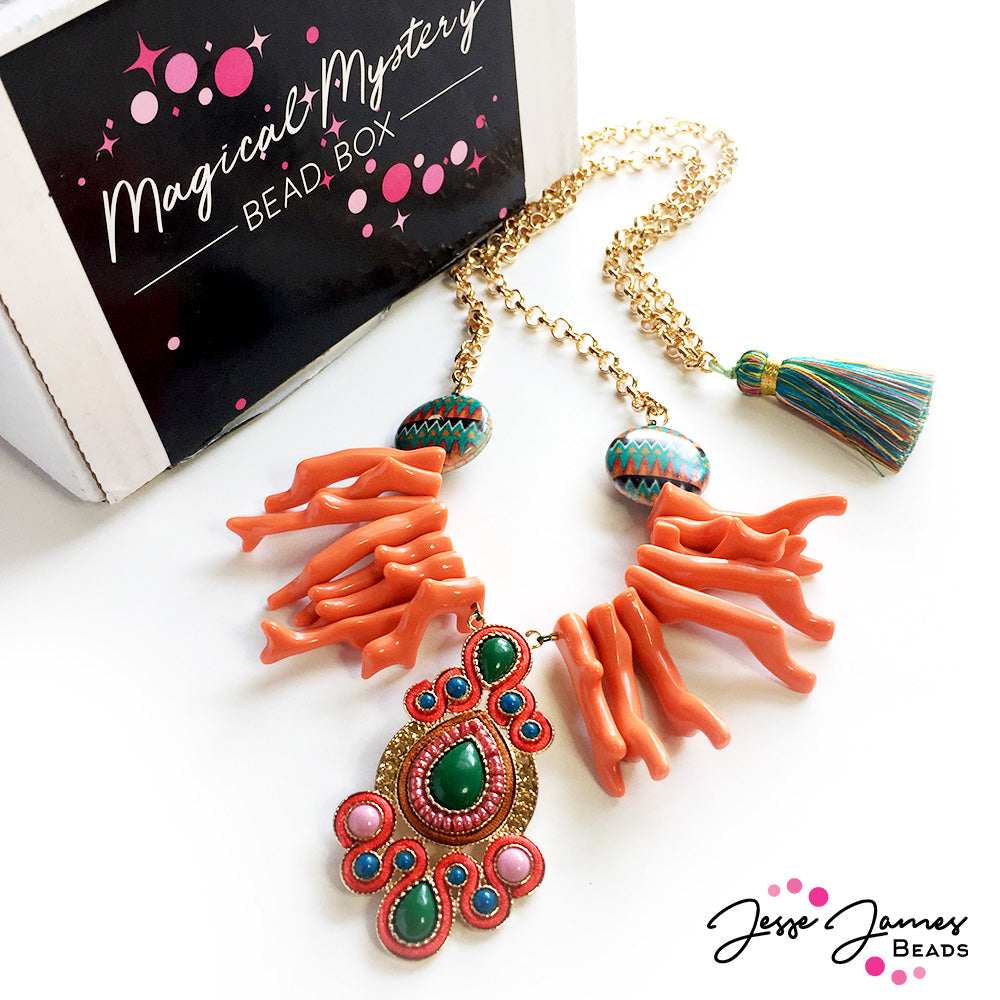 Magical Mystery June Unboxing: Spontaneous Tropical Escape Necklace