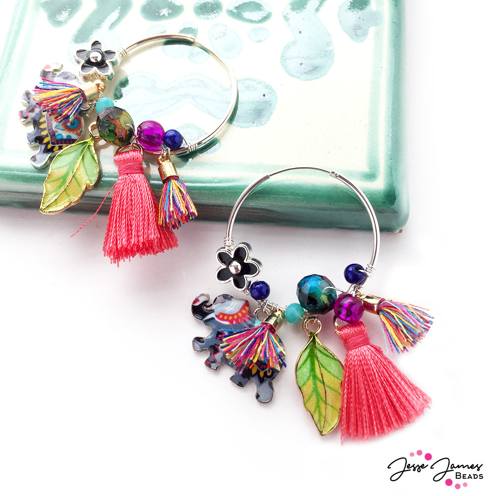 How-To Video: Elephant Nightlife Earrings