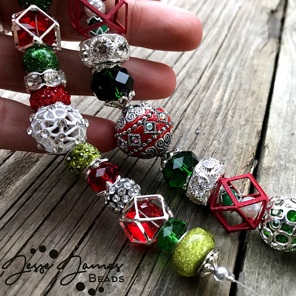 A Sneak Peek Of Our Holiday Bead Collection - Make It Merry!
