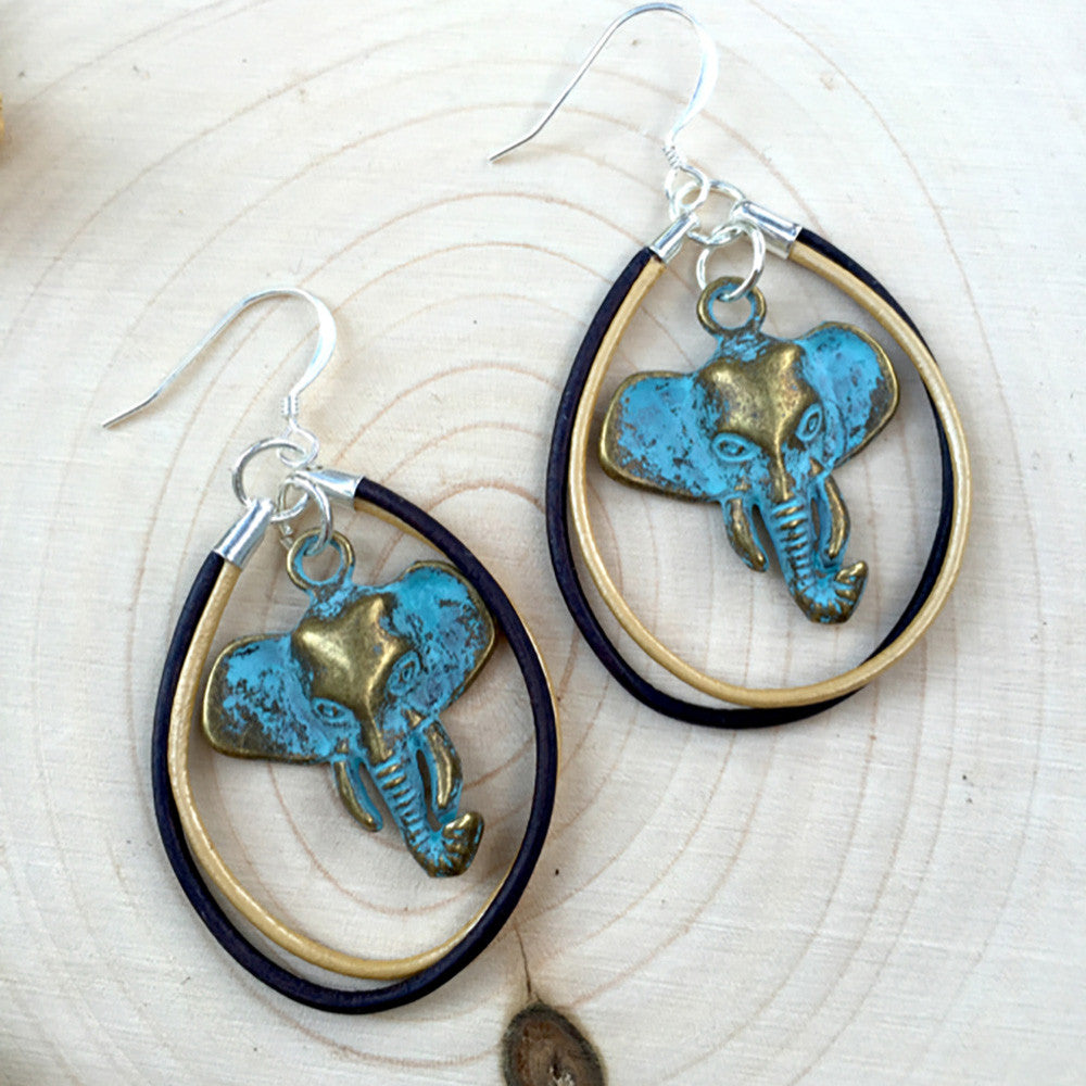 Bohemian Elephant Jewelry Project & Kit