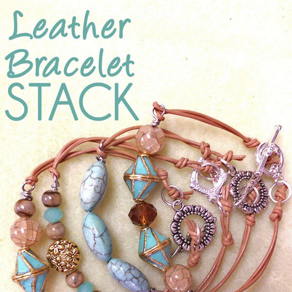 DIY Leather Bracelet How To