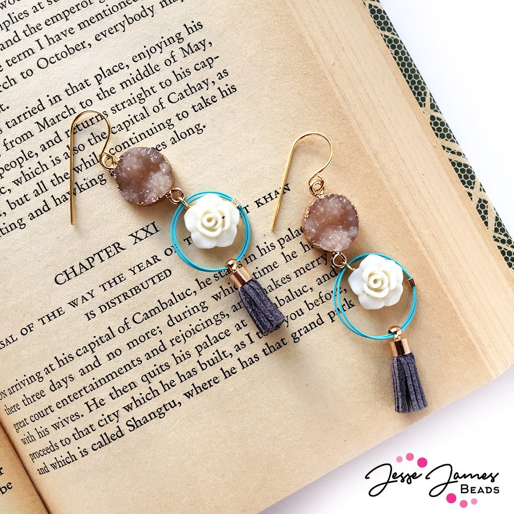 How-To Video: Spontaneous Desert Earrings
