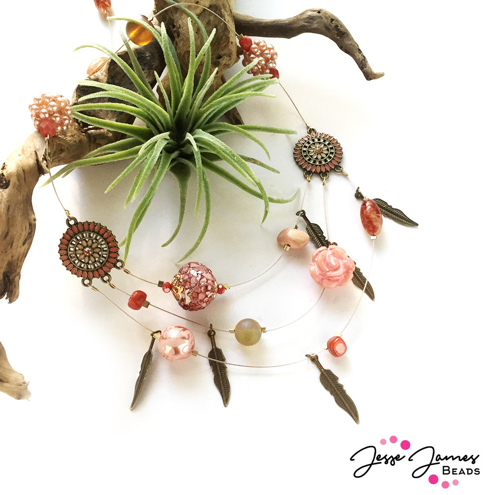 How-To Video: Desert Rose Necklace