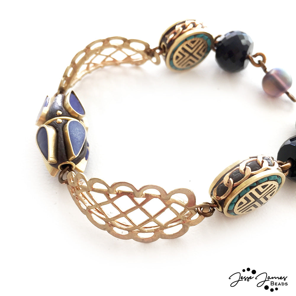 How-To Video: Fitted Nile Basket Bracelet
