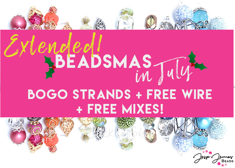EXTENDED Christmas In July! BOGO STRANDS!