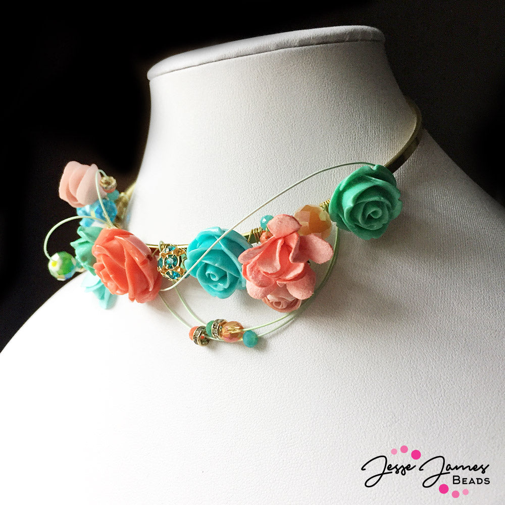How-To Video: Rose Fairy Necklace