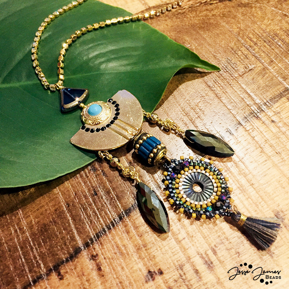 How-To Video: Cleopatra Necklace
