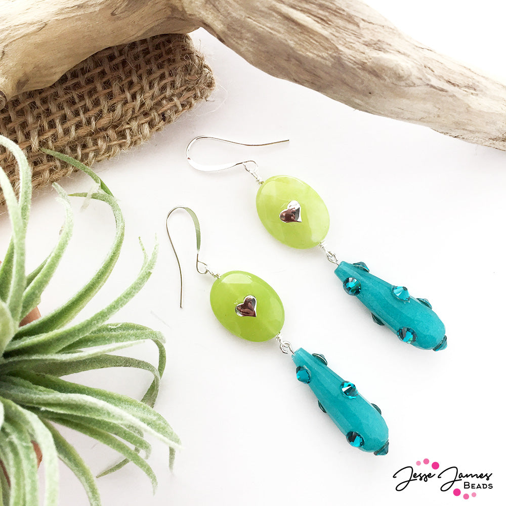 How-To Video: Jaded Pantone Earrings