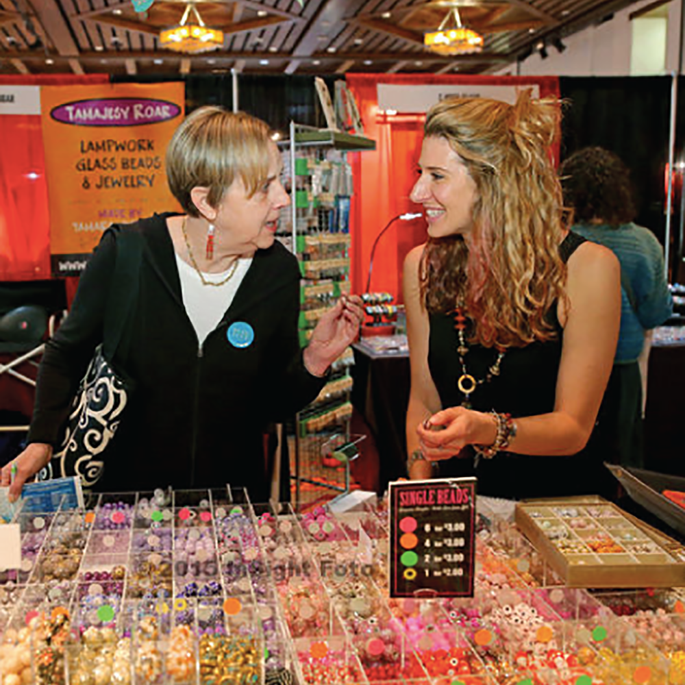 A look into the colorful world of Jesse James Beads! Q&A with Sarah James - Beadfest Blog