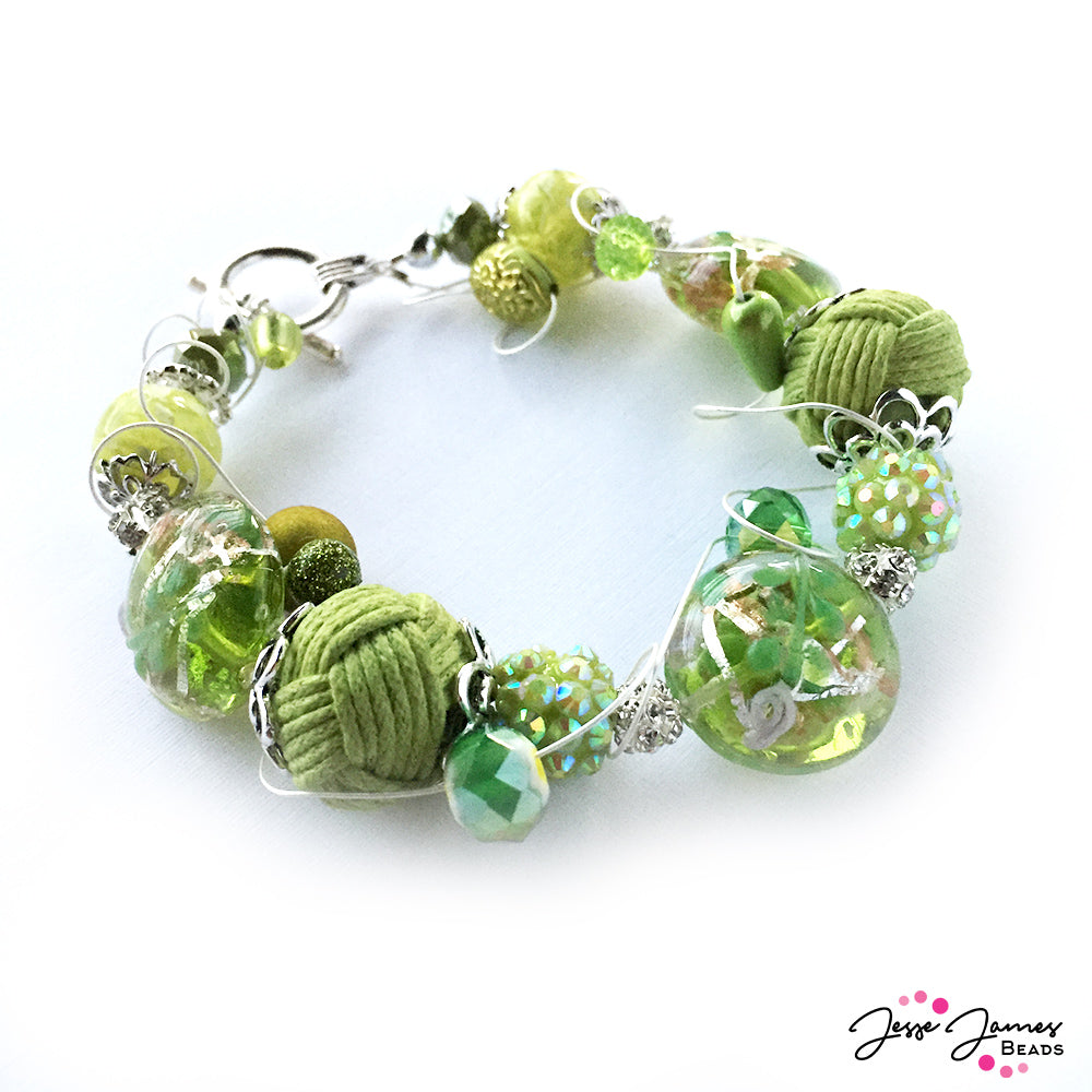How-To Video: Lime Punch Bracelet