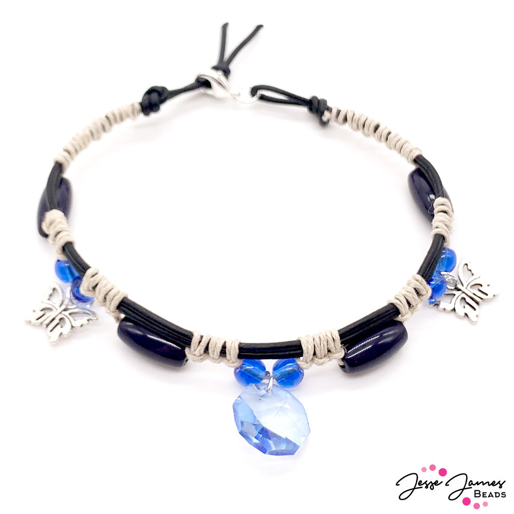 How-To Jewelry Video: Ocean Butterfly Anklet