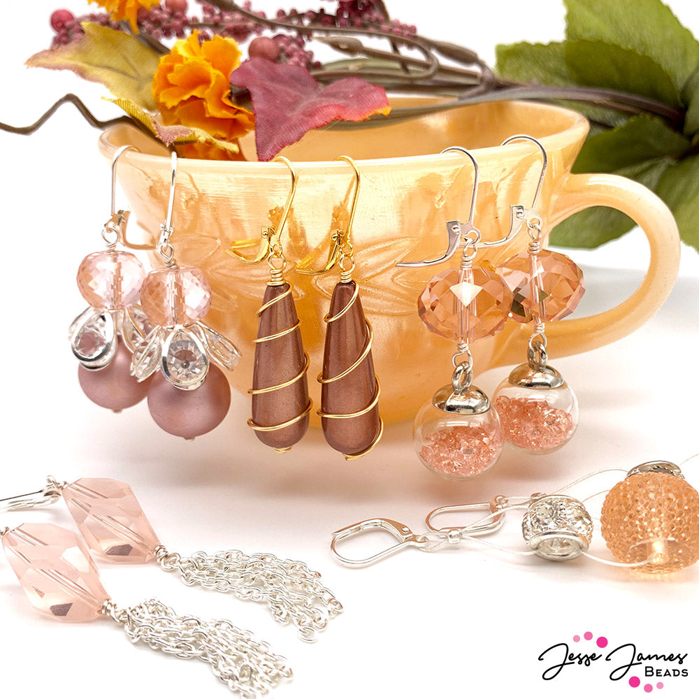 How-To Jewelry Video: Peach Pink Tutorial