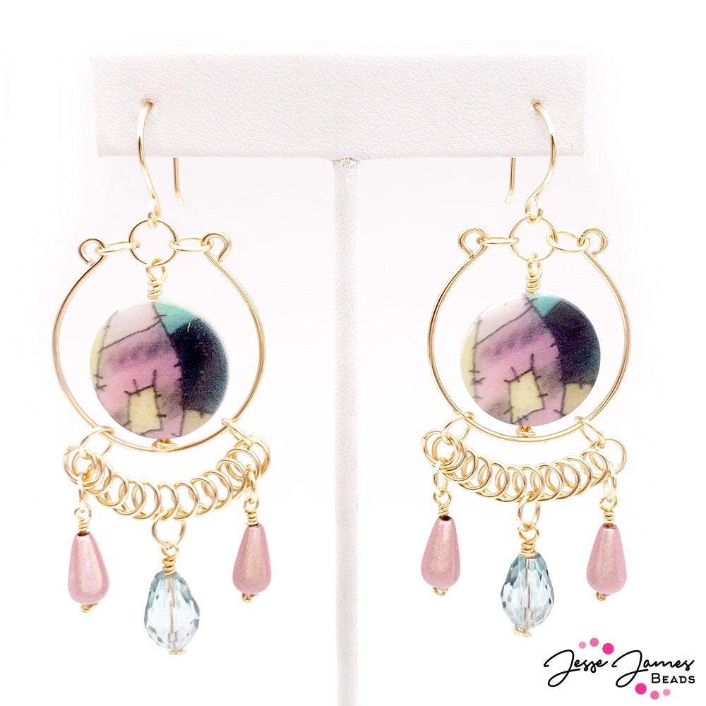 DIY Jewelry Video: Wire-Wrapped Sally Earrings