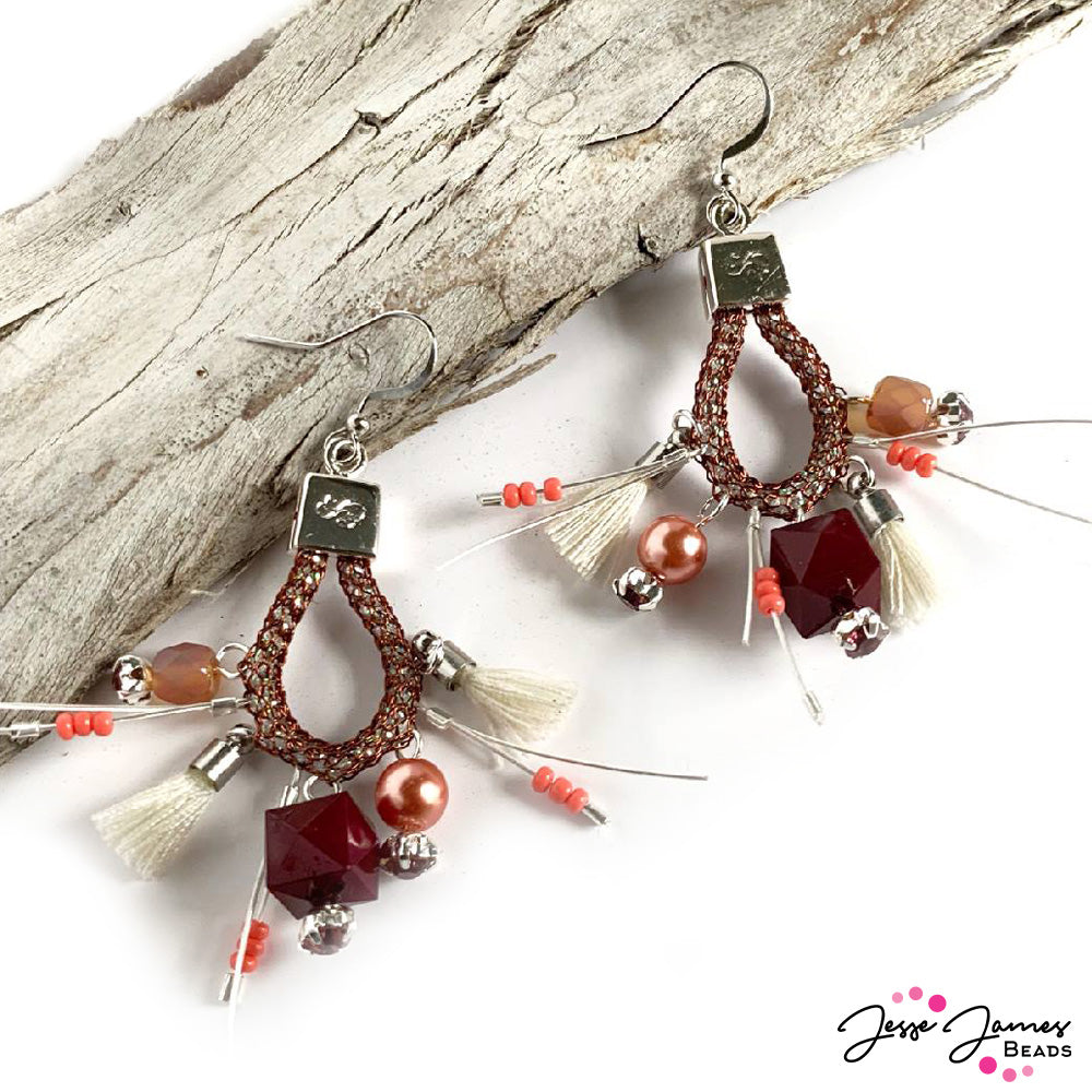 How-To Video: SilverSilk Beaded Earrings