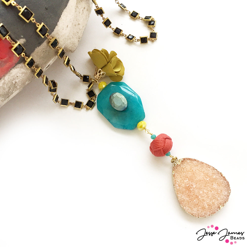 How-To Video: Skipping Stones Necklace