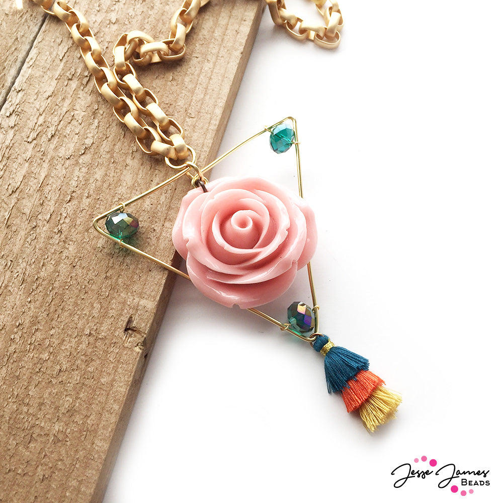 How-To Video: Spring Flowers Necklace