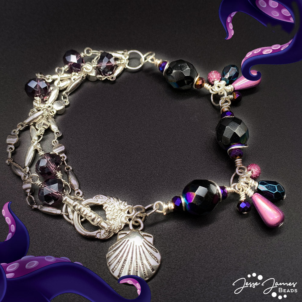 How-To Jewelry Tutorial: Poor Unfortunate Souls Bracelet