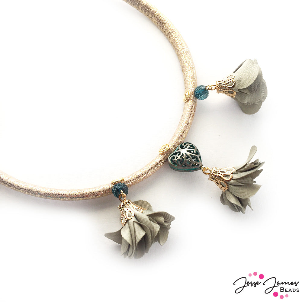 How-To Video: Vintage Garden Necklace