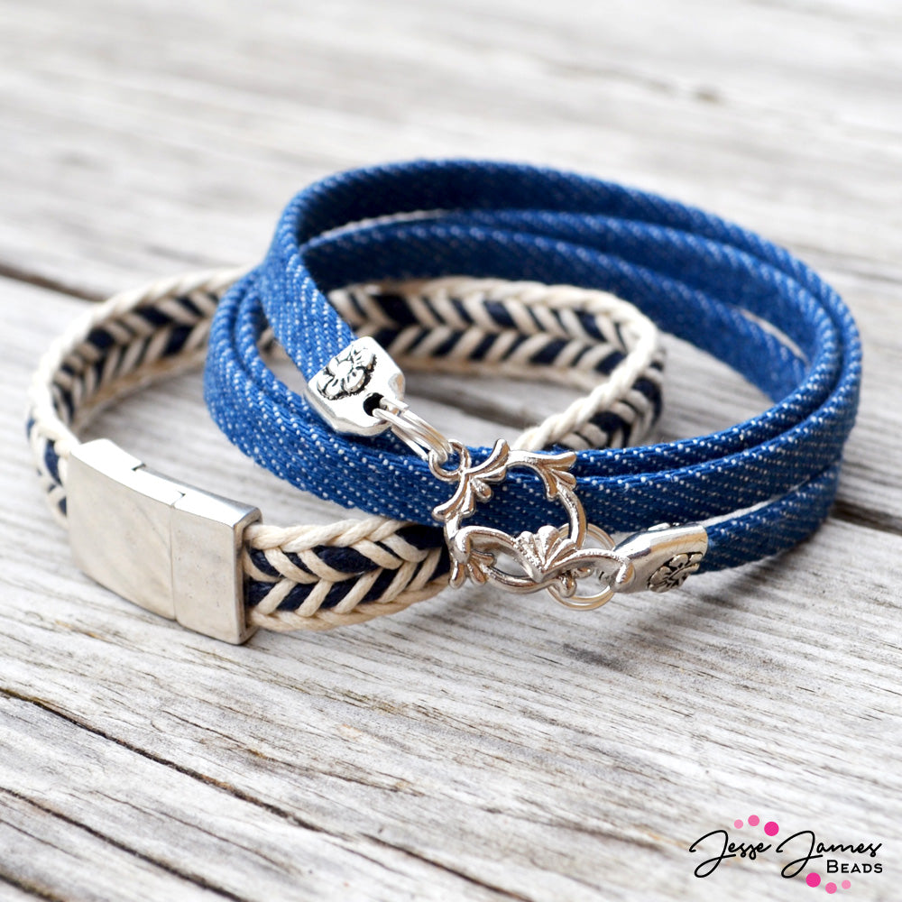 How-To Video: Beachside Bracelet Duo