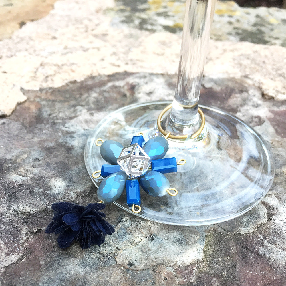 How-To Video: Snowflake Wine Charm