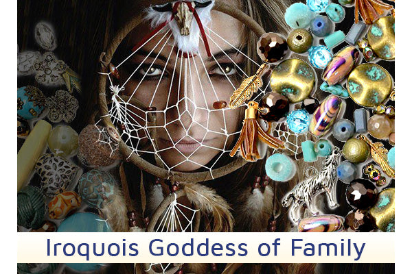 Iroquois Goddess Of Family - Awehai - Jesse James Beads
